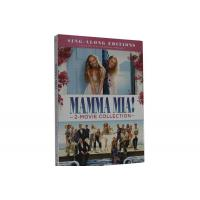 China Mamma Mia! 2-Movie Collection DVD Movie Adventure Romance Musicals Comedy Series Movie DVD on sale
