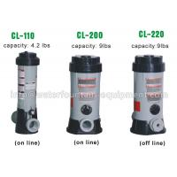 China Grey Color Swimming Pool Dosing System Chlorine Feeders For Swimming Pools wholesale