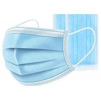 China Non Woven Disposable Mouth Mask High Breathability For Personal Protective Use wholesale