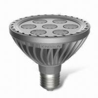 LED Bulbs with Solid Die-casting Housing, Rated Voltage of 100 to 240V AC