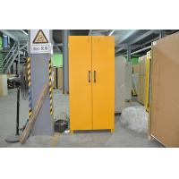 China Laboratory Grounding Corrosive Chemical Storage Cabinets With Double Vents 90min fireproof safety cabinets wholesale