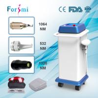 China Beauty center use high efficient q-switched nd yag laser tattoo and freckles removal machine with factory price wholesale