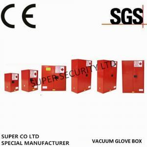 China 90 Gallon Free Standing Lockable Storage Cabinets , Flammable Storage Locker wholesale