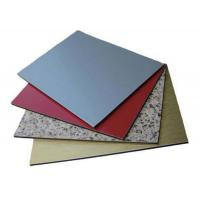 China 3mm / 4mm Polyethylene Fireproof Aluminium Plastic Composite Panel For Residensial wholesale