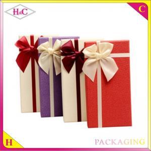 China Handmade reusable luxury paper chocolate box wholesale