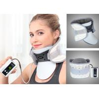 China Leawell Pneumatic Cervical Collar , Electric Auto Pump Traction Neck Brace wholesale
