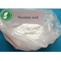 China Pharmaceutical 99% Powder Nicotinic Acid For Digestion CAS 59-67-6 on sale