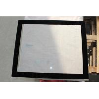 China 5MM Printing Heat Tempered Glass Black Rim For Bus Window wholesale