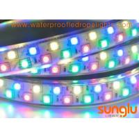 China Superbright 5050 SMD LED Rope Light  , Double Rows Magic RGB LED Rope Light wholesale