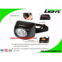 China Cordless Cap Lamp Black Rechargeable Led Headlamp for Mining Opening Pit Hunting Fishing wholesale