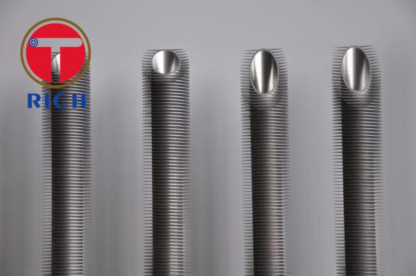Quality ASTM A213 304 316   Fin Tube Connector Fin Tube Air Cooler Finned Pipe Heat Exchanger Finned Stainless Steel Tubing for sale