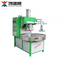 China Automatic 4 position round plate blister packing machine with robot hand wholesale