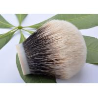 China 100% pure badger hair shaving brush knot 30mm bulb shape for soap wholesale