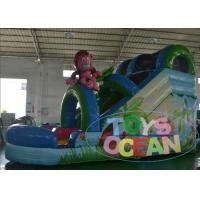 China CE Approved Garden Inflatable Slides Monkey World With Water Pool wholesale