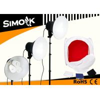 China 5500K Triple Daylight Fixture Studio Continuous Fluorescent Lighting with E27 Bulb Base wholesale