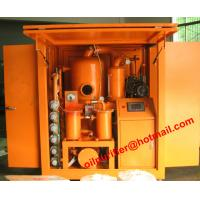 China Fully Automatic Transformer Oil Filtration Device,Cable Oil Degassing,Shelter cover Type Transformer Oil Purifier wholesale