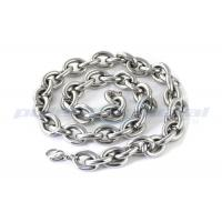 China Custom Specialty Hardware Fasteners , Welded SUS316 Stainless Steel Twisted Link Chain DIN 764 wholesale