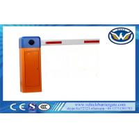 Buy cheap Updated Telescopic Arm Parking Lot Barrier Gates Fast Speed AC Motor Customized Color from wholesalers