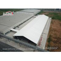 China 25 Meter Width Warehouse Marquee Canopy Tent With Translucent Pvc Roof Cover wholesale