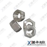 China Hastelloy B2  stainless steel fasteners stainless steel hex heavy nut wholesale
