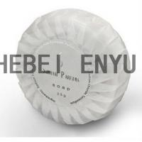 China High end pleat natural bath beauty hotel soap wholesale