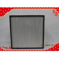 Buy cheap 320x320x220mm (GI frame) galvanized frame separator minipleat hepa filter from wholesalers