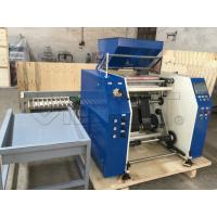 China High Accruacy Plastic Film Slitting Machine Speed Controlled By AC Motor + Inverter wholesale