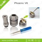 China Mechincal mod electronic cigarette phoenix V 6 rebuildable atomizer wholesale