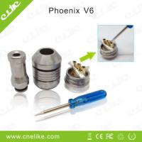 China Mechincal mod electronic cigarette phoenix V 6 rebuildable atomizer wholesale
