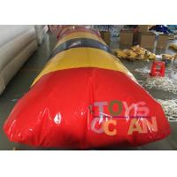 Quality 7x3m Commercial Garde Inflatable Water Blob Jumping Pillow for Aqua Game for sale