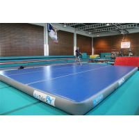 China 12*12m Inflatable Stunt Crash Mat , Gymnastics Practice Mat For Sports wholesale