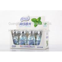 China Low Sugar Zero Calorie Peppermint Candy With Organic Vitamins QS Approval wholesale