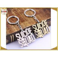 China Various Design Personalised Metal Letter Keyrings , Personalized Name Keychains For Him wholesale