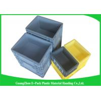 China 45 Litre Plastic Euro Stacking Containers Easy Stacking Eco - Friendly 600 * 400 * 230mm wholesale