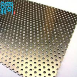 China Decorative metal perforated sheet wholesale