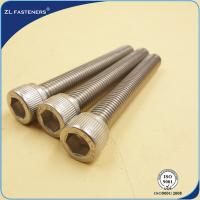 China Natural Color Stainless Steel Bolts / Allen bolt DIN912 wholesale