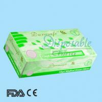 China Disposable non-sterile powder free vinyl gloves wholesale
