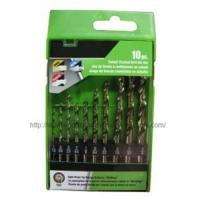 China 10PC HSS Twist Drill Set wholesale