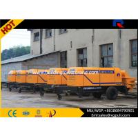 Quality Stationary Electric Concrete Pump 1840mm Wheel Span Anti - wearing Hydraulic Liquid for sale