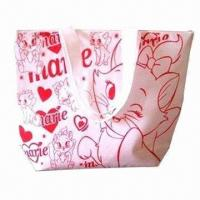 China Women's Promotional Microfiber Tote Bag, Suitable for Promotion, Shopping, Packing and Advertising wholesale