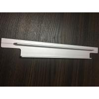 Quality 6061 T6 Aluminium Extrusion Profiles CNC Milling Matt Silver Anodized for Solar Bracket for sale