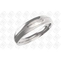 China Polished Wedding Bands Rings Stainless Steel Jewelry Unisex , cz steel rings wholesale