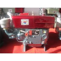 China Four cycle Single Cylinder Diesel Engine / yanmar horizontal diesel engine wholesale