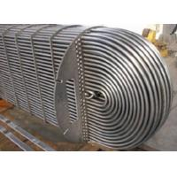 China Water Cooled Evaporator Stainless Steel U Tube Heat Exchange Pipe For Refrigeration wholesale