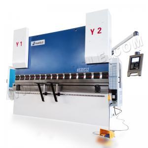 China HARSLE 4+1 axis CNC 300T/3200mm Delem DA52s Control System Hydraulic Bending Machine on sale