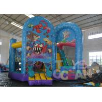 China Ocean Rental Inflatable Bouncer Combo For Party Digital Printing 0.55mm PVC wholesale