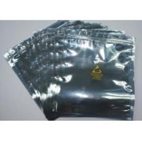 Quality Resealable Anti Static Shielding Bags , Customized ESD Shielding Bag With Zip Lock for sale
