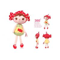 Wholesale 50cm Cute Girl Plush toys and Stuffed Baby Cartoon Doll For New Year Holiday gift from china suppliers