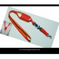 China red color custom logo and Name Badge ID Card Holder Retractable for Lanyard wholesale