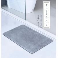 China High quality super absorbant diatomaceous earth mat eco-friendly non slip diatomite bath mat wholesale